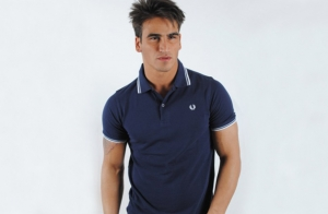 Polo Fred Perry Azul 37€
