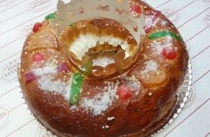 Roscón de Reyes artesanal por  9€